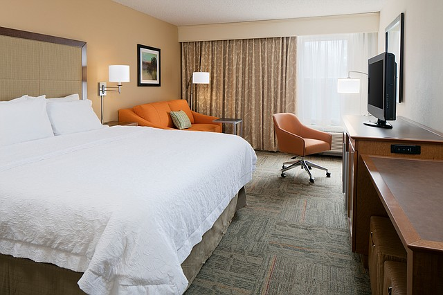 All 127 hotel rooms at the Hampton Inn Kansas City/Shawnee have been renovated to accommodate the company's new forever young initiative.