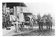 A look at Linwood mail carriers during the horse and buggy days.
