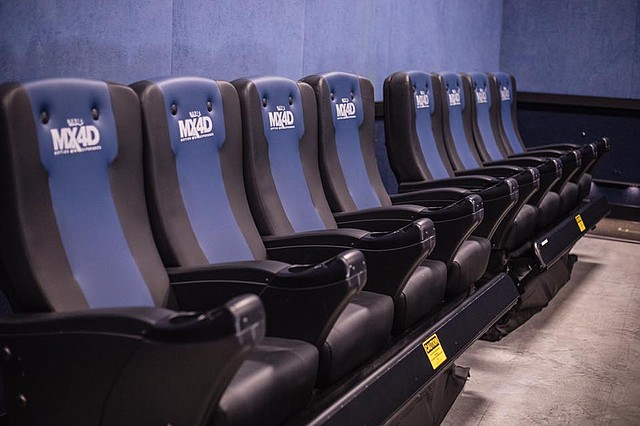 B&B Shawnee 18 is the first movie theater in the Midwest, and fifth in the country, to offer 4D special effects. The theater revealed its new MX4D Motion EFX theater to the public last week. Special effects include everything from wind to seat motions.