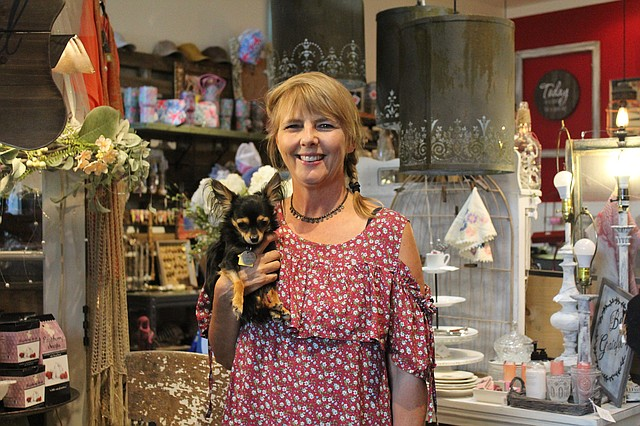 Beata Foreman opened up By B! Boutique in Shawnee four years ago.