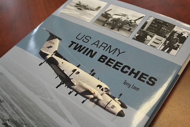 Shawnee historian and aviation photographer Terry Love recently published his 20th book.