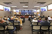 The Nov. 6 Planning Commission meeting drew a large crowd.