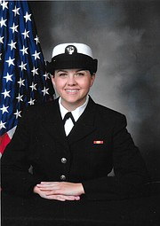 Catherine PelleritO — the granddaughter of Cashman — Enlisted in the United States Navy after graduating from Shawnee Mission Northwest High School. The 21-year-old recently returned to her home base after helping hurricane victims.