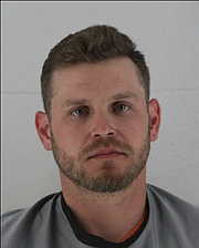 Jacob N. O'Connell, 32, was arrested by Shawnee Police following a disturbance at his Shawnee home early Saturday, November 25, 2017