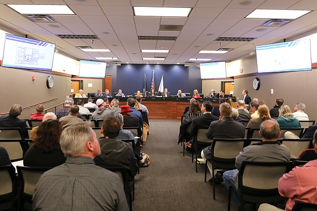 Dozens of residents showed up to the Shawnee City Council meeting on Dec. 18.