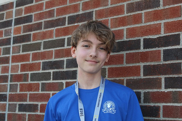 Shawnee teenager Wyatt Boyd will represent the state of Kansas in the National Geographic Bee in Washington, D.C., later this month.