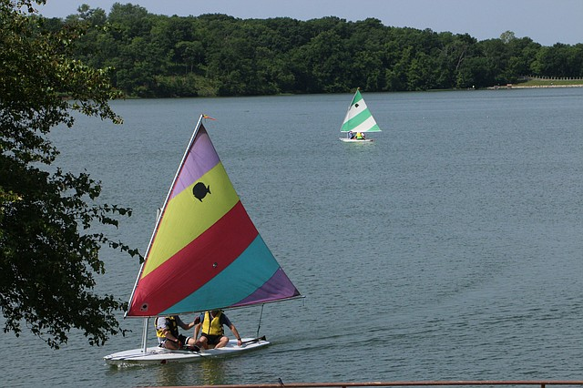 All sailors and sailing enthusiasts ages 18 and older are invited to join the Johnson County Sailing Society for a special event on Saturday at Shawnee Mission Park Lake.
