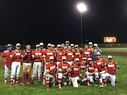 The Tonganoxie High baseball team is a 2018 Class 4A Division I regional champion. No. 4 THS (6-14) defeated No. 1 Atchison (15-6), 12-10, and then Piper (11-10), 5-2.