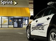 Shawnee Police responded on an alarm at the Sprint Store located at 15150 Shawnee Mission Parkway at 12:50 a.m.