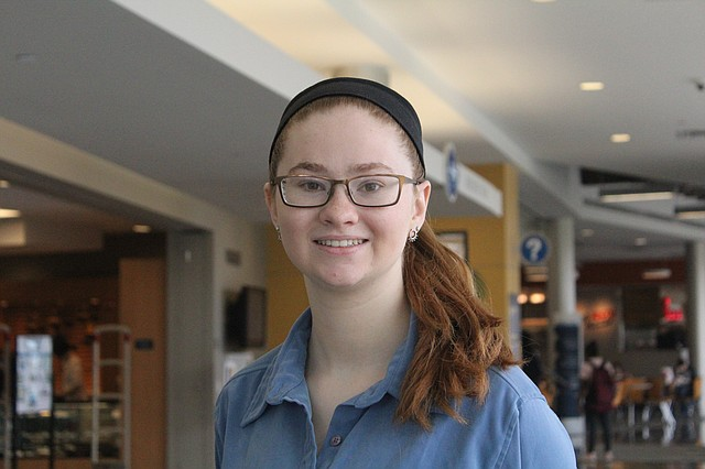 Sara Babcock, a UMKC student from Shawnee, recently earned her Gold Award designation, which is the highest level in Girl Scouts.