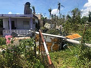 All Hands and Hearts volunteers worked nine-hour days to patch up homes which had been ruined by Hurricane Maria. While Williams and Augustine stayed for two weeks, many other volunteers stayed for as long as two months.
