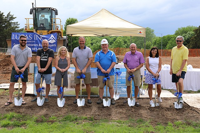 Lake Quivira officials recently broke ground on a new $5.5 million community center to be constructed this summer.