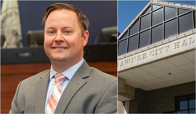 Nolan Sunderman will take over the role as Shawnee city manager next month.