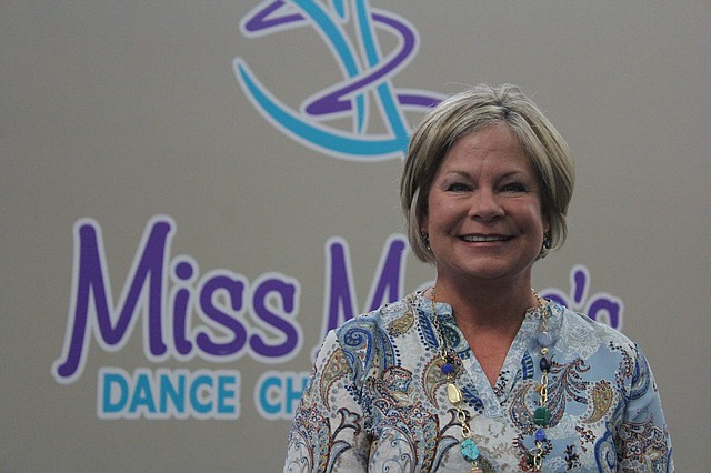 Maria Imm is the founder and owner of Miss Maria's Dance, Cheer & Gymnastics, 10370 Ridgeview Road in Olathe.