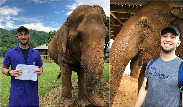 Twenty-year-old Spencer Boaz, of Shawnee, recently spent two weeks in Thailand with the study-abroad organization Loop Abroad.