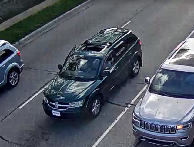 If you have seen this dark van, please call Overland Park Police Department at 913-344-8750 or the TIPS Hotline at 816-474-TIPS.