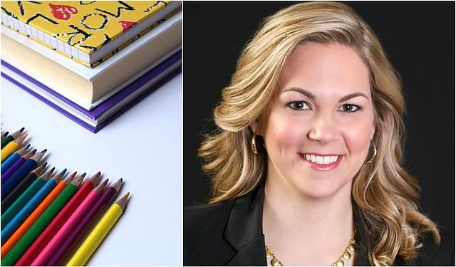 Clear Creek Elementary School art teacher Megan Clark was recently named a finalist for Kansas Teacher of the Year.