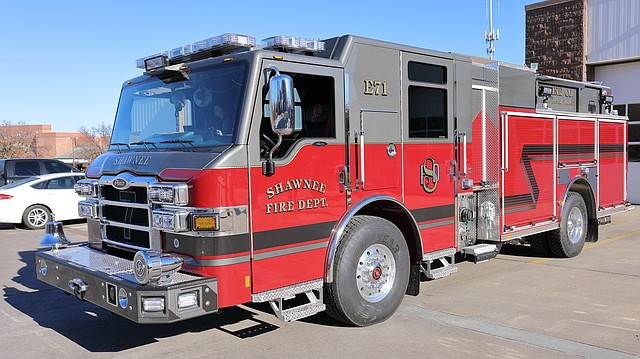 A custom built 2018 Pierce Velocity recently ran its first calls as Engine 71 out of the John B. Glaser Fire Station.