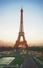 A group of BHS French students recently toured France where this photo of the Eiffel Tower was taken.