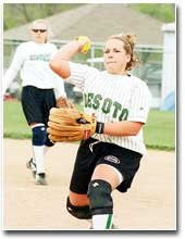 Former De Soto Wildcat Brooke Moyer had an impressive first season as a part of the Baker University softball team. Moyer played second base and led the team in slugging percentage.