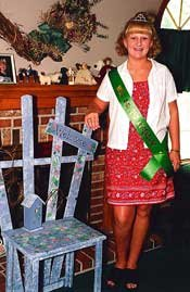 De Soto High School sophomore Allyssa King was a candidate in this year's Miss 4-H pageant.