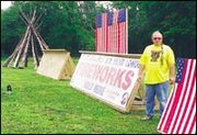 Jim Oyler Jr. plans to sell fireworks from his DeSoto-area land despite a Johnson County ordinance forbidding them. County officials said they would take legal action against him if he opens for business.