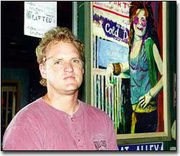 Dan Ralston, better known to DeSoto residents as Woody, combines his passion for art with his love of the restaurant business. The co-owner of Kill Creek Pub displays several of his paintings in the local eatery.