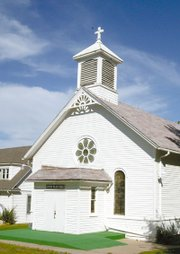 The Sacred Heart Catholic Church has been a home of worship since 1890.