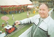Jim Gambrill spent the winter months completing the miniature circus display.