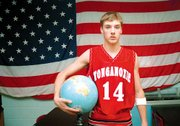 Jordan Glenn, a forward on the Tonganoxie basketball team, will compete in Australia this summer with other Americans.