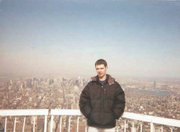 Stephen Bishop Seely, who lives in New York City, visited the top of the World Trade Center in March, 2000.