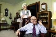 Betty and Phil Stevens first met in 1948 in Topeka when Phil was dating Betty's roommate. They eloped in 1950 and married in Bentonville, Ark. They have six children.