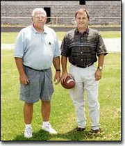 New coaches Don and Mark Elston hope to bring discipline and focus to a Tonganoxie team in need of some help.