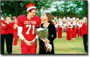 Jimmy Walker and Becca Mills were crowned the 2000 homecoming king and queen Friday night before the start of Tonganoxie's game against Parsons. The Chieftains won, 10-0. For additional photographs from homecoming, see page 10A. For coverage of the game, see page 1B.
